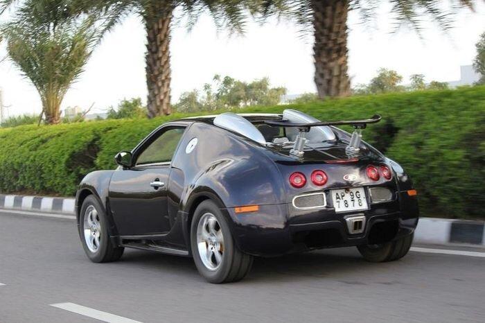 Bugatti Veyron из Индии (27 фото)