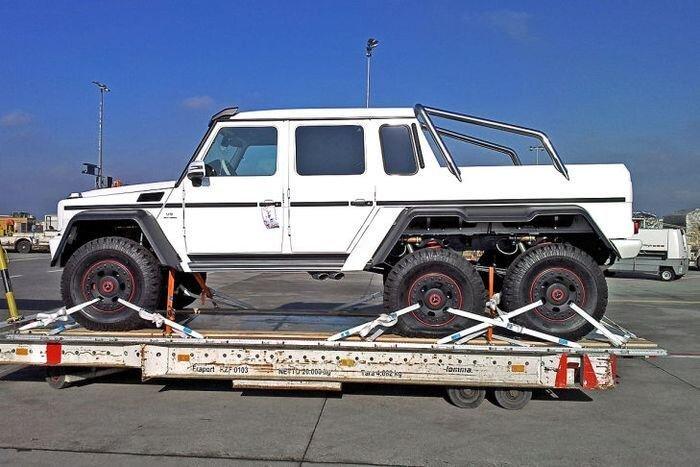 Арабские прихоти - Mercedes-Benz G63 AMG 6×6 V8 Biturbo (17 фото)