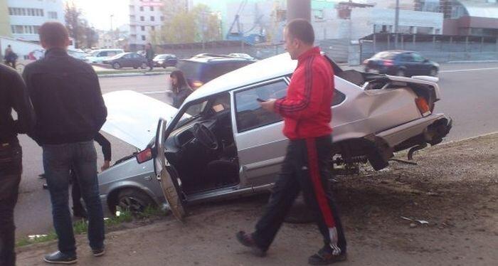Нелепые аварии