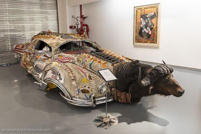 Парад диковинных машин в Хьюстоне (10 фото)
