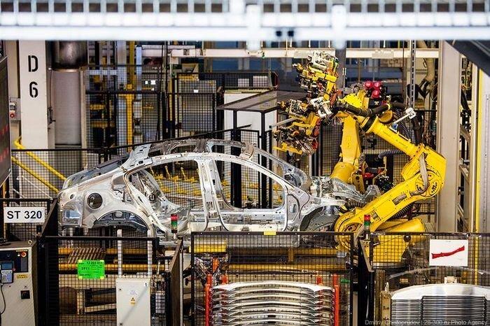 Завод по производству автомобилей Opel. Германия (49 фото)
