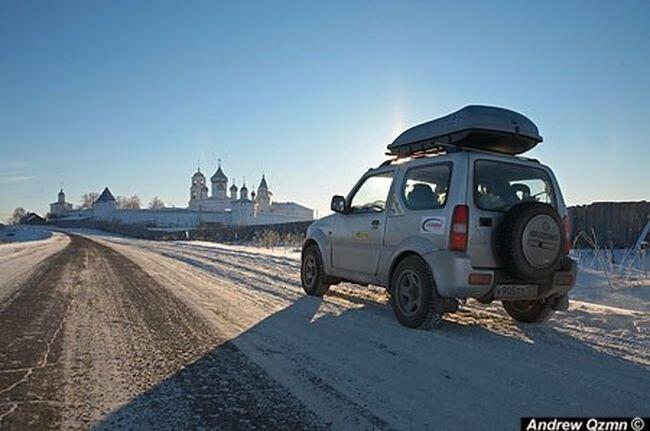 Зимняя фото-экспедиция по северным городам нашей родины (38 фото)