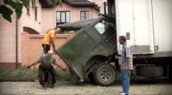 OFF ROAD в озвучки из фильма Кин-дза-дза (видео)