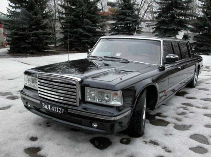 Лимузин для президента России. Первый тест-драйв (22 фото+видео)