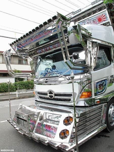 Decotora - красавцы на японских дорогах (45 фото+7 видео)