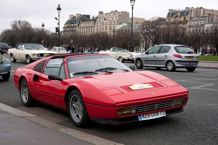 13-й Парижский пробег ретро-автомобилей (67 фото)