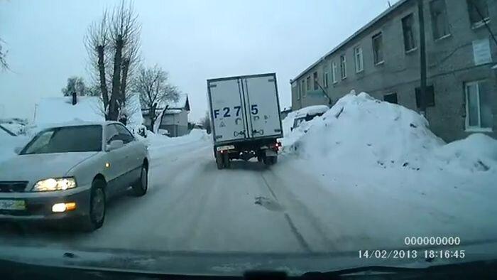 Колесики из Новосибирска (видео)