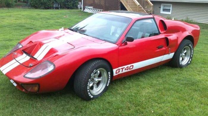 Найдено на Ebay. Реплика Ford GT 40 из Pontiac Fiero (4 фото)