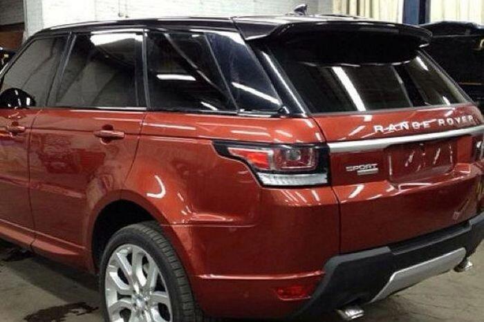 Range Rover Sport засветился до премьеры