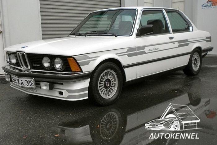 Найдено на Ebay. Alpina BMW 320i Turbo E21 Prototype (50 фото)