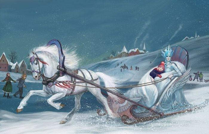 Изготовление машины для Снежной Королевы (27 фото)