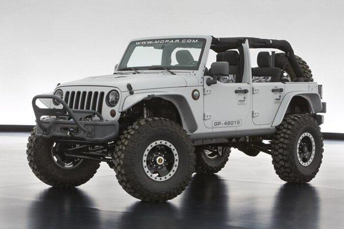 Jeep и Mopar рассекретили целую россыпь концептов