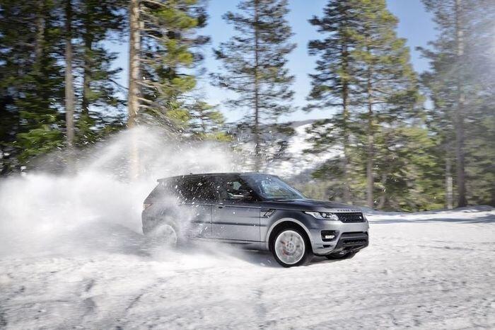 Официальные фото нового Range Rover Sport (85 фото+видео)