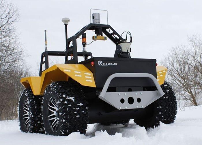 Grizzly - робот для чистки снега (3 фото+видео)