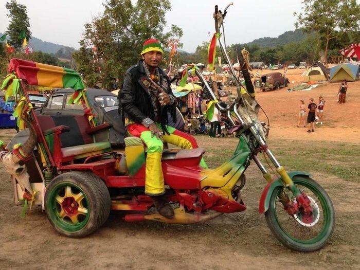 Мото-фестиваль в Тайланде - Бурапа 2013 (36 фото)
