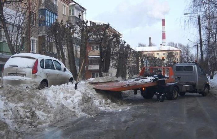 Отжиг дорожников в Чебоксарах (3 видео)