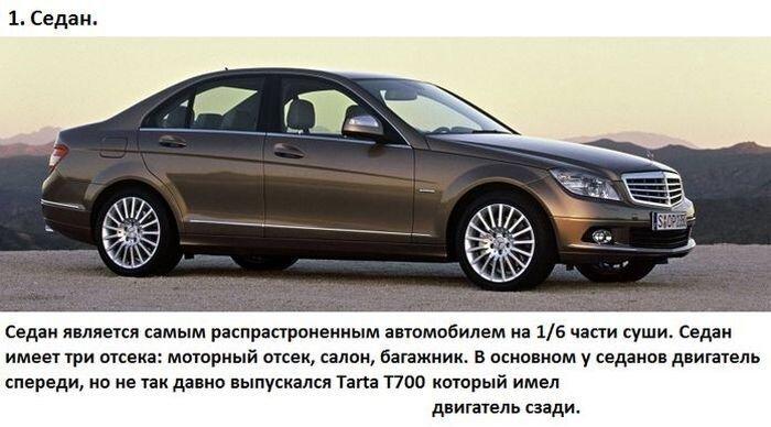 Все виды и назначение автомобильных кузовов (19 фото)