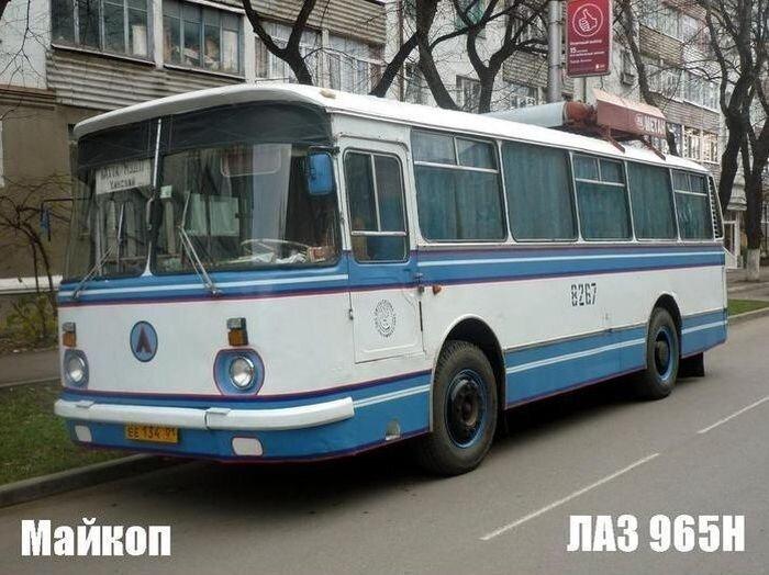 Автобусы в разных городах России (29 фото)