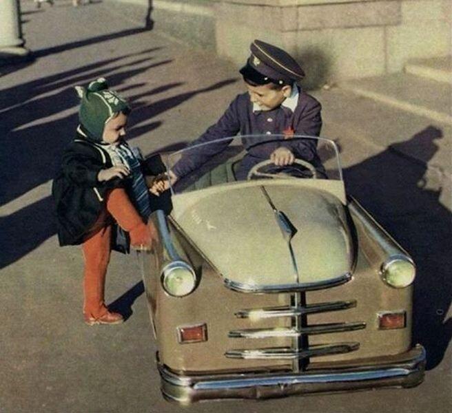 Педальное детство СССР (37 фото)