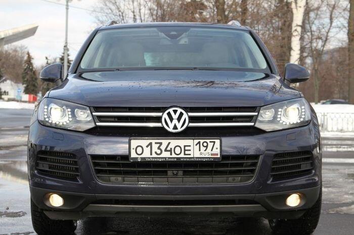 Тест-драйв Volkswagen Touareg 3.0 TDI V6 (27 фото)