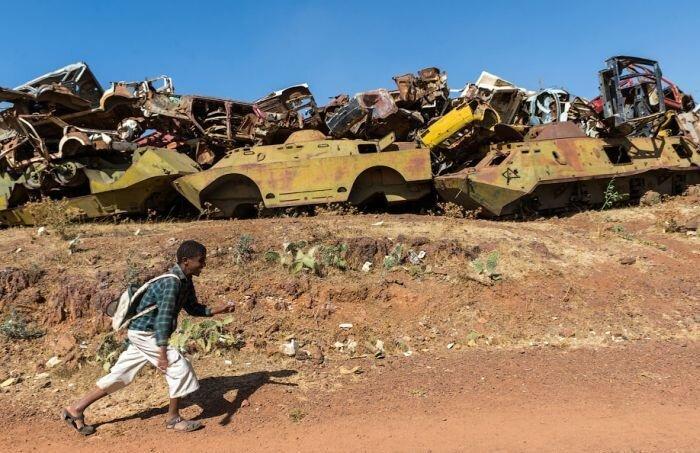 Памятник войны Эфиопии с Эритреей (36 фото)
