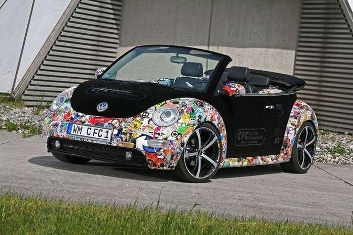 Тюнинг Volkswagen New Beetle (14 фото)