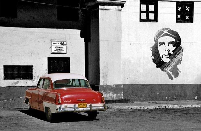 Ретро-автомобили на Кубе (83 фото)