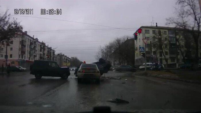 Авария дня часть 994 (фото+видео)