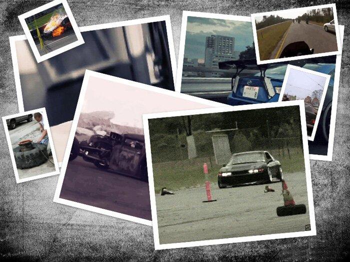 Подборка автомобильных гифок. Часть 9 (21 гифка)