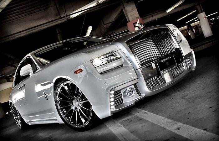 Rolls-Royce Ghost от Wald International (4 фото)