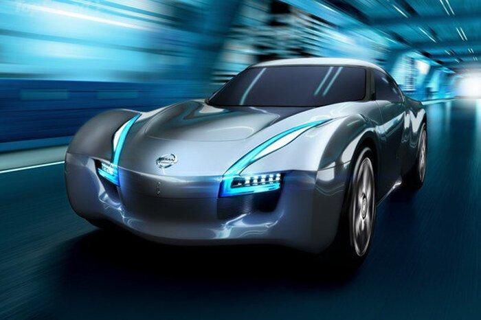 Nissan готовит спорткар на электротяге