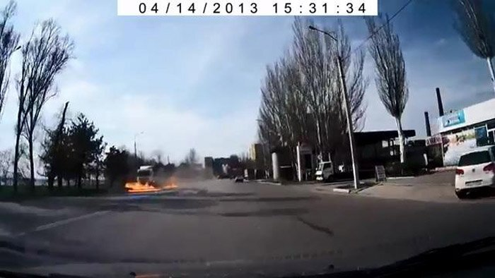 Авария дня часть 1004 (4 Фото+Видео)