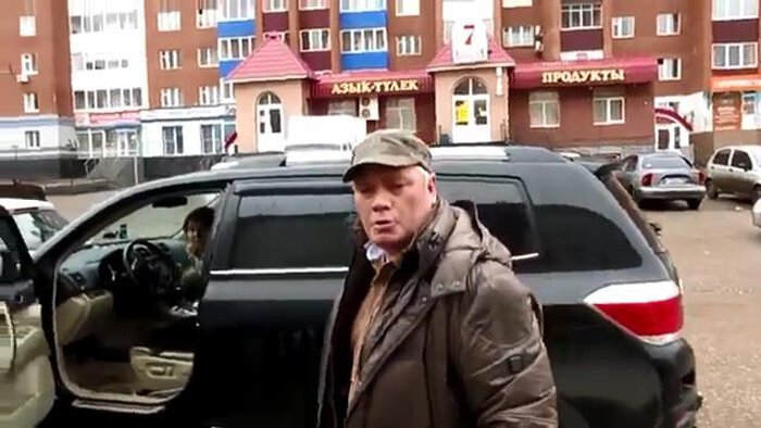 Конфликт из-за маленького ДТП (фото+видео)