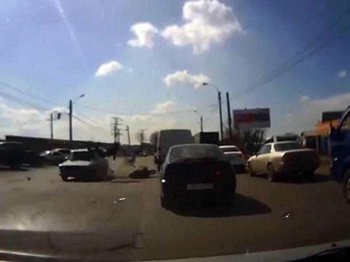 Авария дня часть 1009 (фото+видео)