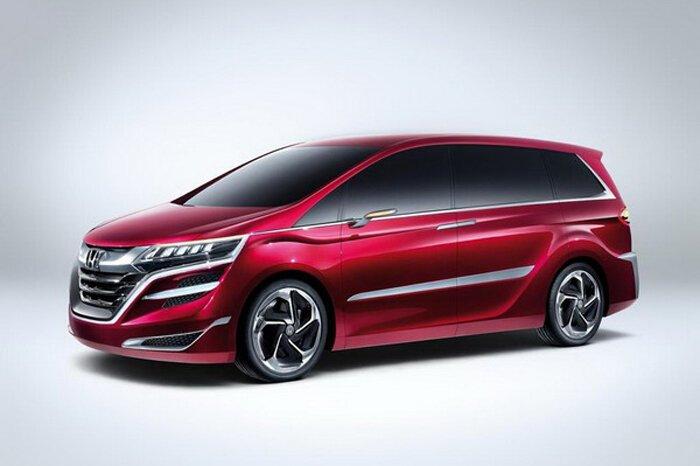 Honda выводит минивэны на новый уровень с помошью Concept M