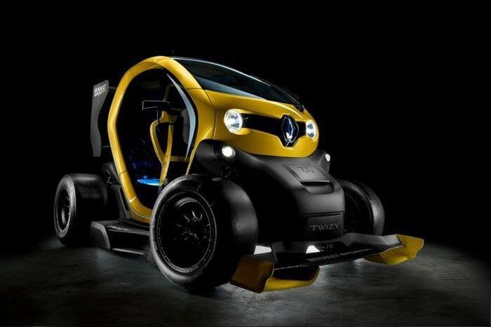 Электрокар Renault Twizy превратили в гоночный болид (12 фото)