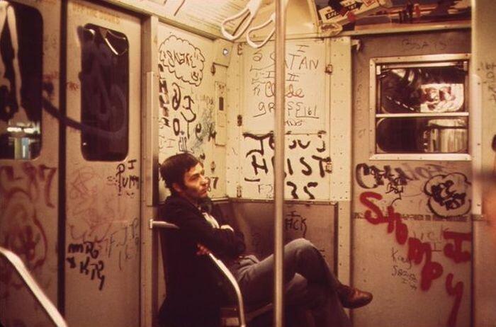 Каким было метро Нью-Йорка 40 лет назад (20 фото)