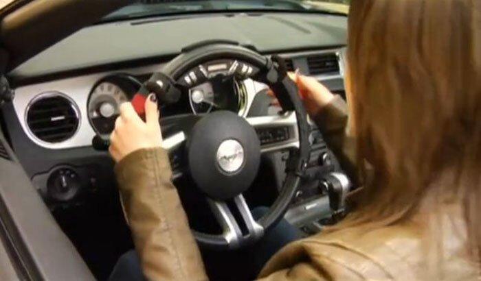 Музыкальный руль для автомобилистов (фото+видео)