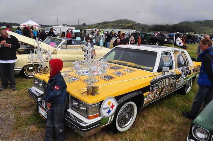 Выставка  Pacific Coast Dream Machines Show (60 фото)