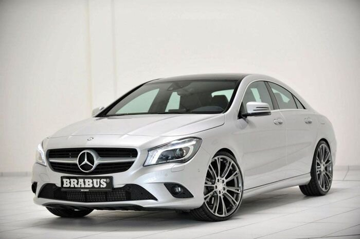 Mercedes-Benz CLA от ателье Brabus (14 фото)