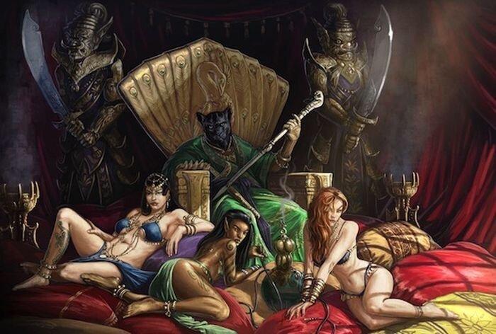 11 злых монстров из мировых религий (11 фото)