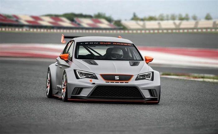 Новый гоночный SEAT Leon Cup Racer (10 фото)