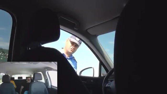 Пропал водитель (видео)