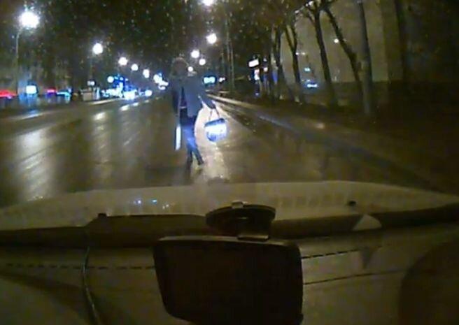 Суровая автоподстава в Кемерово (видео)
