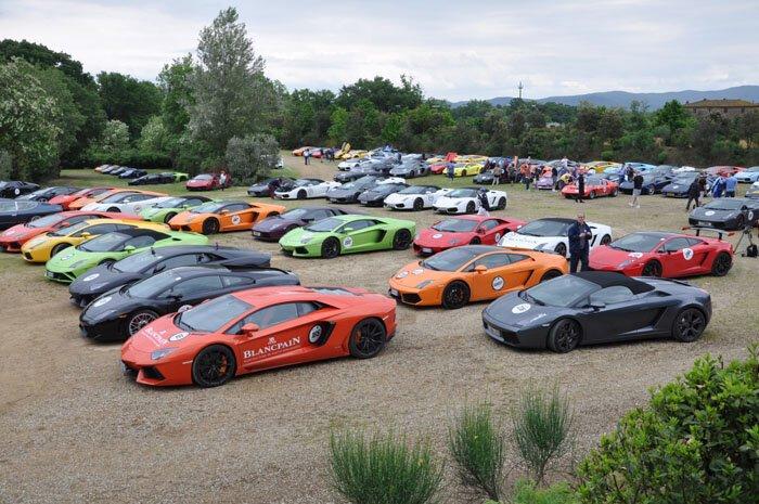 Юбилейное событие Lamborghini Grand Tour (48 фото+видео)