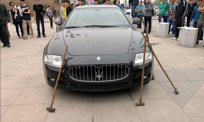 Maserati разбили вдребезги (9 фото+видео)