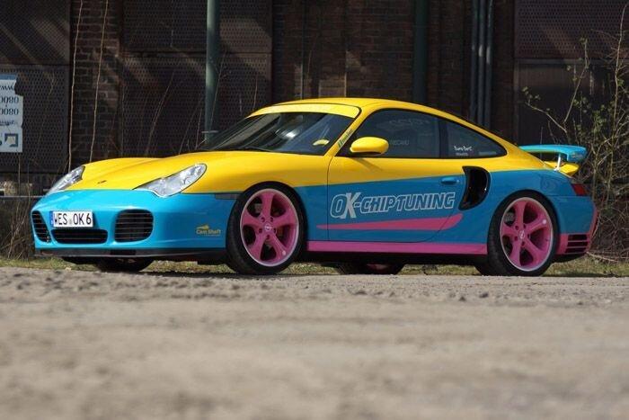 Porsche 911 Turbo  в исполнении OK-Chiptuning (13 фото)