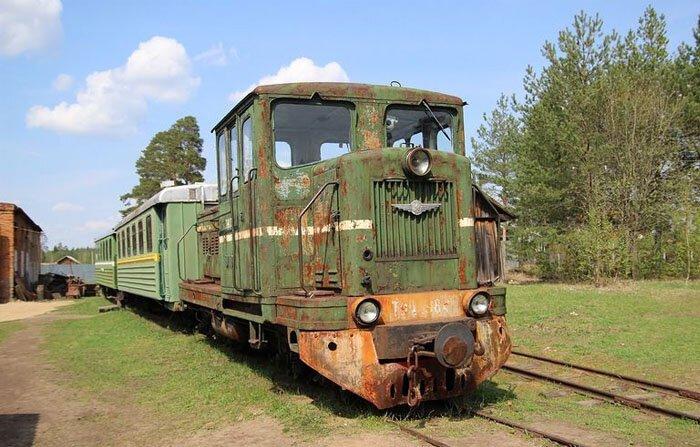 Музей паровозов в Переславле-Залесском (76 фото)