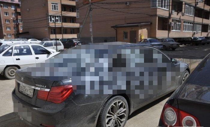 Как украсить представительский BMW ко Дню Победы ( 3 фото)