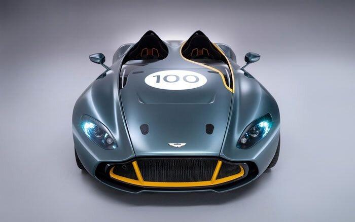 Aston Martin представил концепт CC100 Speedster (32 фото+2 видео)